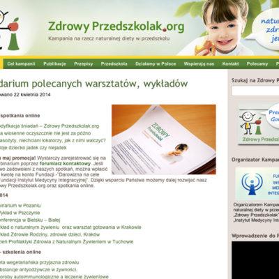 Zdrowy Przedszkolak strona główna
