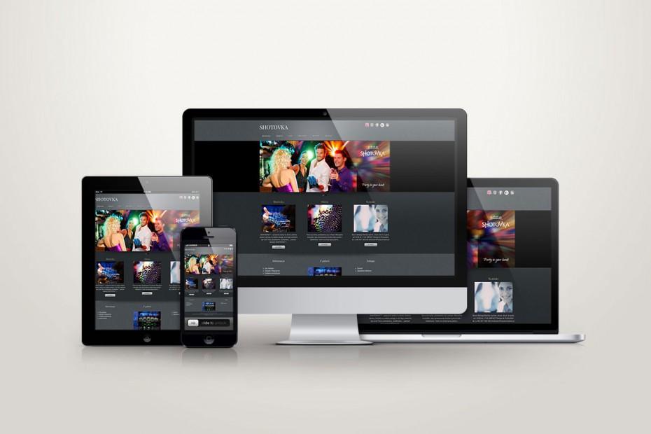 Strona internetowa brand website